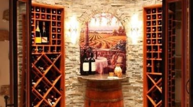 Modern Wine Cellar Ideas - Modern Wine Cellar interior design, wine cellar, winery, red, brown