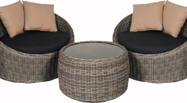There's nothing quite like a Kiwi summer – chair, furniture, product, product design, wicker, white, gray, black