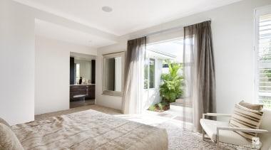 Master ensuite design. - The Chianti Display Home ceiling, estate, floor, home, interior design, living room, property, real estate, room, window, white