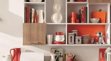 Melteca is perfect for shelving and cabinetry - bookcase, furniture, interior design, kitchen organizer, product, product design, shelf, shelving, table, white