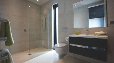 Earthstone talc ivory bathroom tiles - Earthstone Range bathroom, floor, home, interior design, property, room, gray