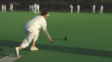 Sport artificial turf, ball game, baseball field, competition, cricket bat, games, grass, green, lawn, lawn game, leisure, outdoor recreation, player, putter, recreation, sport venue, sports, sports training, stick and ball games, team sport, wicket, green