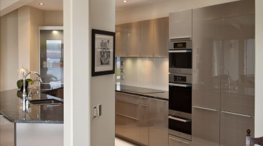 Mt Victoria Kitchen - Mt Victoria Kitchen - cabinetry, countertop, home appliance, interior design, kitchen, gray, brown
