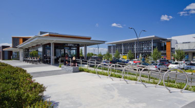RCGRetail Property Award –Excellence Award Takanini Village is mixed use, real estate, walkway, blue