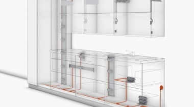 SERVO-DRIVE for AVENTOS - display case | product display case, product, product design, shelf, shelving, white