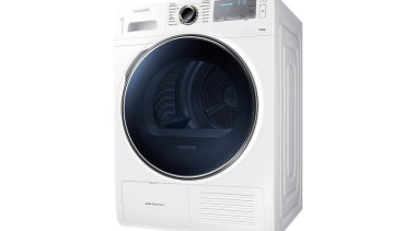 Laundry- Dryer DV90H8000HW/SADesigned to look as good as clothes dryer, home appliance, major appliance, product, product design, washing machine, white