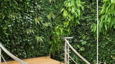 Living Wall - Vertical Garden - balcony | balcony, house, outdoor structure, property, real estate, white, green
