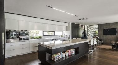 Entrant: Davinia Sutton #1 – 2015 NKBA Design countertop, floor, interior design, kitchen, real estate, gray, black