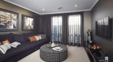 Home theatre design. - 17.jpg - ceiling   ceiling, home, interior design, living room, property, real estate, room, window, gray, black
