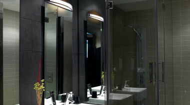 Wall Lights - Wall Lights - bathroom | bathroom, ceiling, interior design, room, black, gray