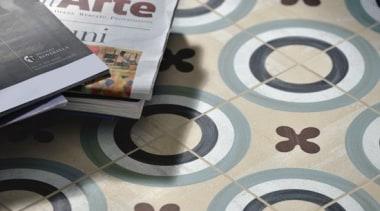 Cementina Posa - circle | design | floor circle, design, floor, flooring, pattern, gray