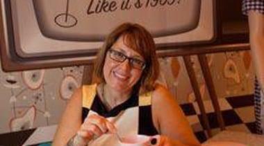 Fletcher Building Laminates & Panels Vice President of baking, cuisine, finger, girl, hand, table, brown