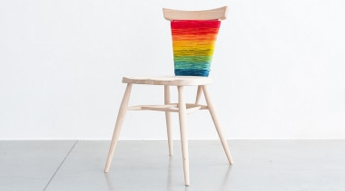 Donna Wilson - London Design Festival 2014 - bar stool, chair, furniture, product, product design, stool, table, white