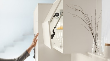 SERVO-DRIVE for AVENTOS - furniture | product design furniture, product design, shelf, shelving, gray, white