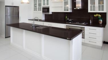Classic Contemporary - Classic Contemporary - cabinetry | cabinetry, countertop, cuisine classique, floor, flooring, interior design, kitchen, room, gray