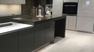 Concreate GKC CF103 1 - Concreate_GKC_CF103_1 - cabinetry cabinetry, countertop, cuisine classique, floor, flooring, interior design, kitchen, gray, black