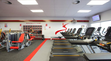 As commercial cleaning specialist's, we have a highly exercise machine, gym, room, sport venue, structure, gray