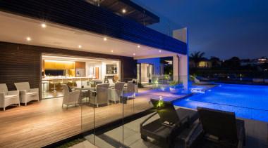 Kohi20 - apartment | architecture | condominium | apartment, architecture, condominium, estate, home, house, interior design, lighting, property, real estate, resort, roof, swimming pool, villa, black, blue