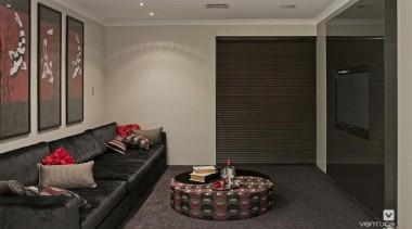 Home theatre design. - the_dynasty_24.jpg - ceiling   ceiling, floor, flooring, interior design, living room, room, wall, window, black, gray