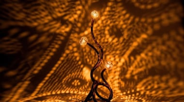 These handcrafted lamps by Vainius Kubilius not only light, macro photography, organism, brown