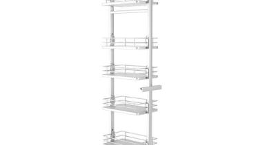 Giamo Tall Pull Out Pantry Unit with Solid product, product design, structure, white