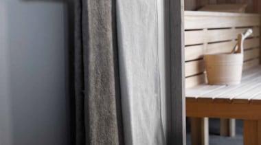 PB750 - Towel Bar. Satin Stainless Steel AISI floor, interior design, product design, textile, black, gray