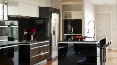 Lower Hutt Kitchen - Lower Hutt Kitchen - cabinetry, countertop, floor, flooring, hardwood, interior design, kitchen, living room, room, wood flooring, gray