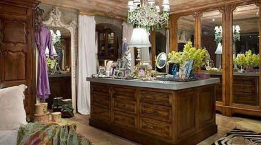 WALK IN CLOSET - Closet - walk in ceiling, estate, furniture, home, interior design, living room, room, brown