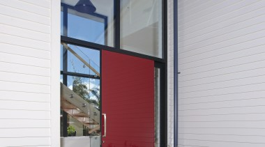 Make a real impact with a coloured glass architecture, door, facade, home, house, property, real estate, window, gray