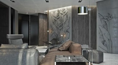 carved walls - Masculine Apartments - ceiling | ceiling, interior design, room, wall, gray, black