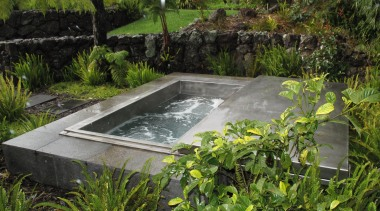 300 dpi hawaii spa with cover.jpg - 300_dpi_hawaii_spa_with_cover.jpg garden, landscape, pond, vegetation, water, water feature, water resources, watercourse, brown