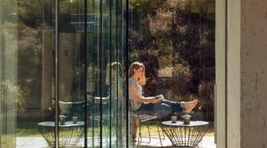 Glass windows - apartment | architecture | door apartment, architecture, door, glass, home, house, interior design, reflection, window, brown