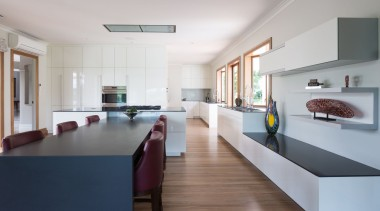 IMGL0208-33 - Riverlinks Road, Two separate kitchens in architecture, house, interior design, kitchen, real estate, room, table, gray