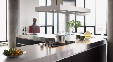 Featuring: Formica White Ellipse - Light and Bright countertop, interior design, kitchen, product design, white, gray