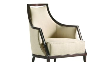 """""""My natural inclination for grandeur prompts me to chair, furniture, outdoor furniture, product, product design, white"""
