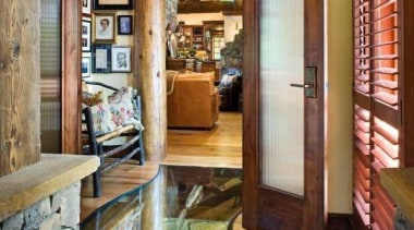 A Creek That Runs Through Your Hallway - door, floor, home, interior design, living room, window, wood, brown