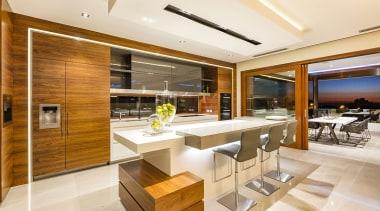 Giorgi Exclusive, PerthSee full story architecture, interior design, kitchen, real estate, orange, brown