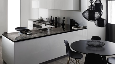 laminex 180fx.jpg - laminex_180fx.jpg - black | countertop black, countertop, furniture, interior design, kitchen, product design, table, gray, white, black