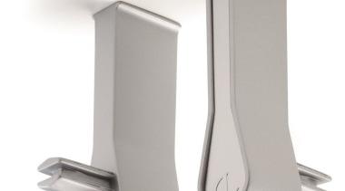 Domus Line Goccia Wardobe Hanging Rod with LED product design, white