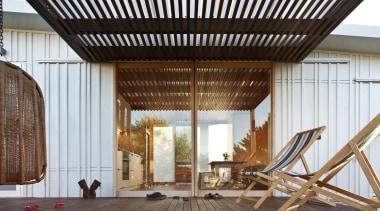 Coromandel, New Zealand - Studio 19 Onemana Bach architecture, house, interior design, wood, white, brown