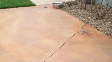 Colourmix 27 - Colourmix_27 - concrete | driveway concrete, driveway, floor, line, material, road surface, walkway, wood, orange