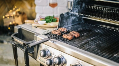 Made in Canada, every Broil King BBQ feature animal source foods, barbecue, barbecue grill, cuisine, food, grilling, kitchen appliance, meat, outdoor grill, black, gray