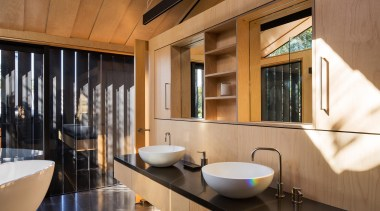 Takapuna, Auckland (designed in association with Rachael Rush) architecture, bathroom, interior design, brown