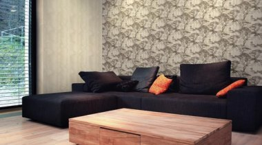 Modern Style Range - angle | coffee table angle, coffee table, couch, floor, flooring, furniture, hardwood, interior design, laminate flooring, living room, table, wall, wood, wood flooring, orange