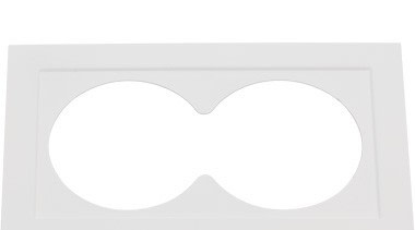 Designed specifically for use with our Junistar eyewear, product design, rectangle, white, white