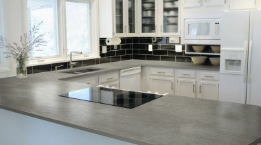Dekton Keon - Dekton Keon - countertop | countertop, cuisine classique, floor, flooring, interior design, kitchen, gray