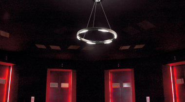 Oxygen from Spain - Pendant Light - ceiling ceiling, interior design, light, light fixture, lighting, red, black