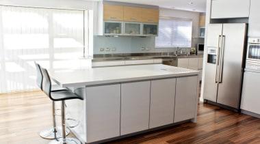 Khandallah Kitchen - Khandallah Kitchen - cabinetry   cabinetry, countertop, cuisine classique, floor, interior design, kitchen, real estate, room, white