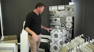 The Tile Depot Why choose tiles - video furniture, product, technology, black, gray