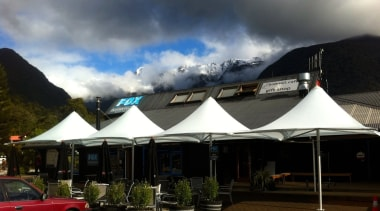 Summit Parasols - roof | sky | black roof, sky, black